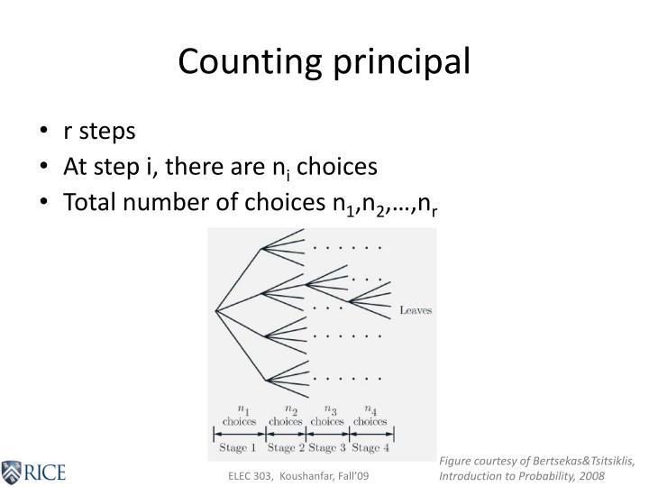 Counting principal
