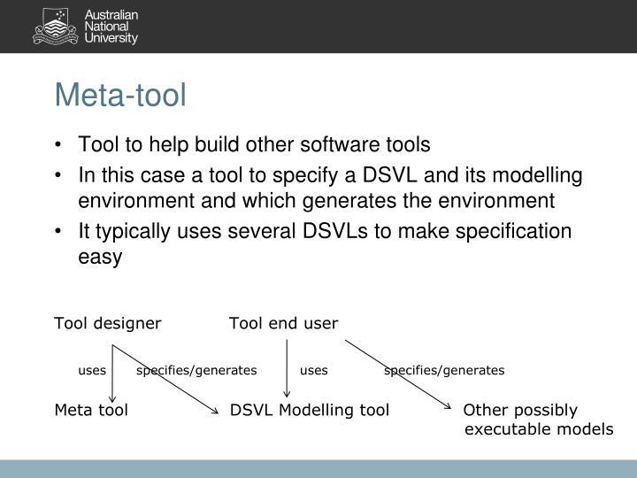 Meta-tool