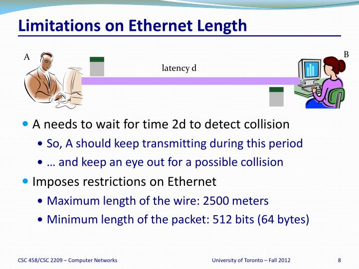 Limitations on Ethernet Length
