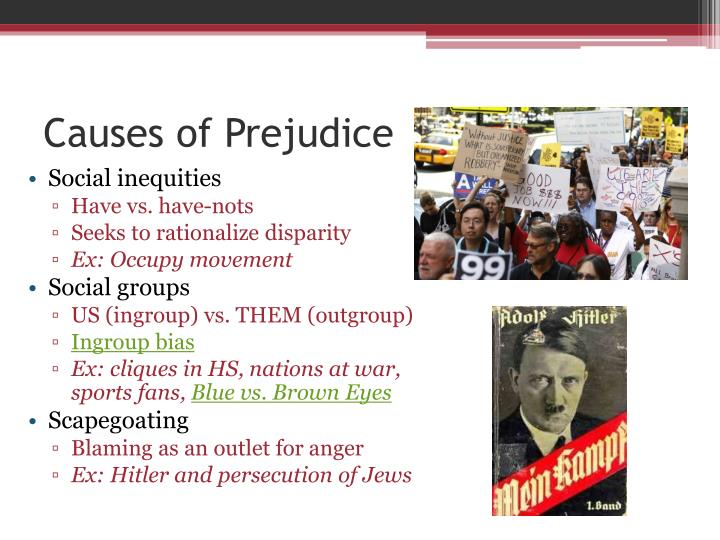 nurture causes prejudice A summary of stereotypes and prejudice in 's social psychology learn exactly what happened in this chapter, scene, or section of social psychology and what it means.