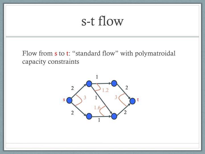 s-t flow
