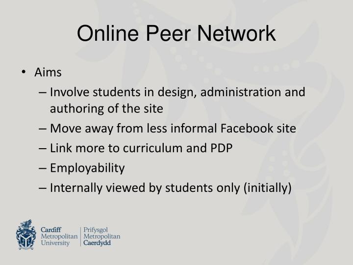 Online Peer Network