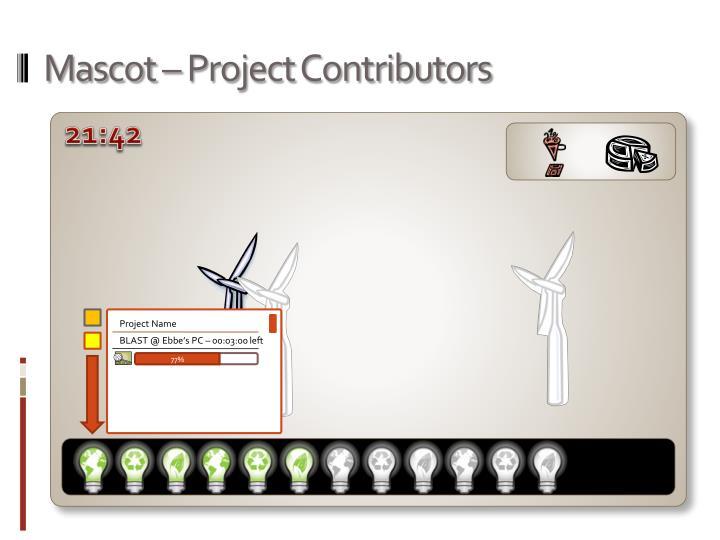 Mascot – Project Contributors