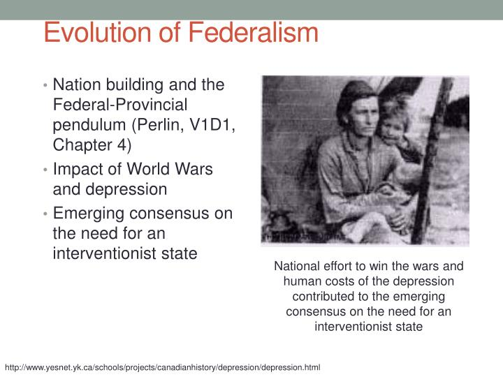 Evolution of Federalism