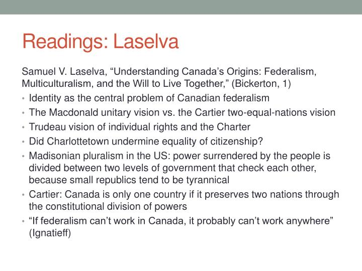 Readings laselva