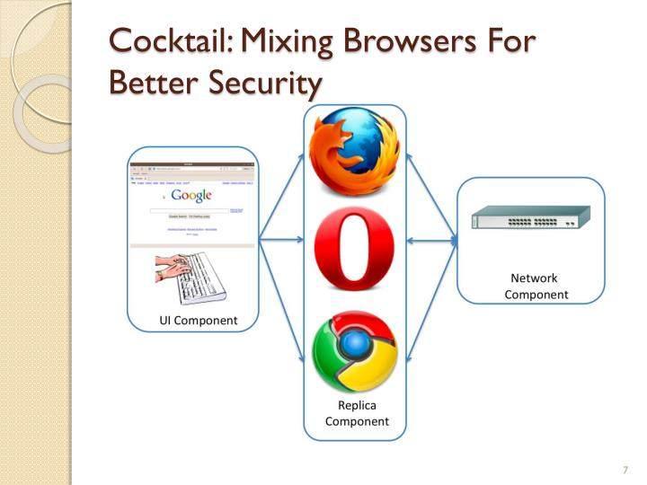 Cocktail: Mixing Browsers For Better Security