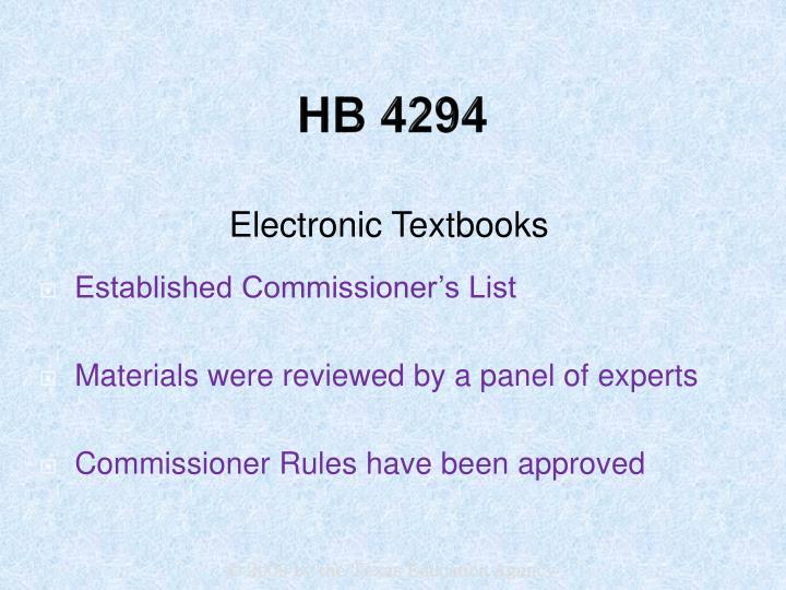 HB 4294