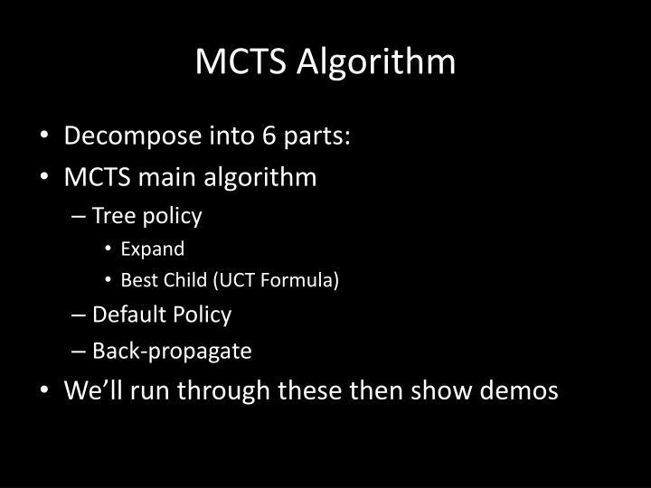MCTS Algorithm