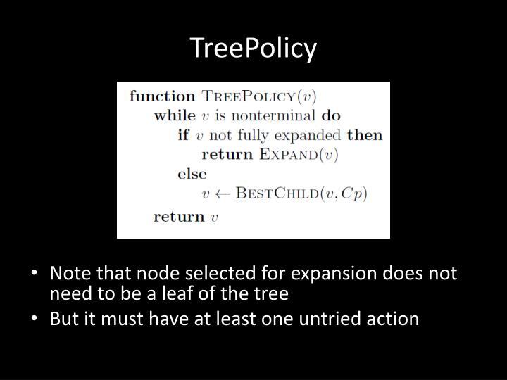 TreePolicy