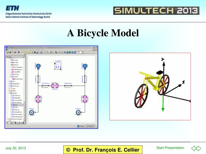 A Bicycle Model