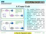 a crane crab