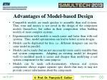 advantages of model based design
