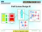 full system design ii