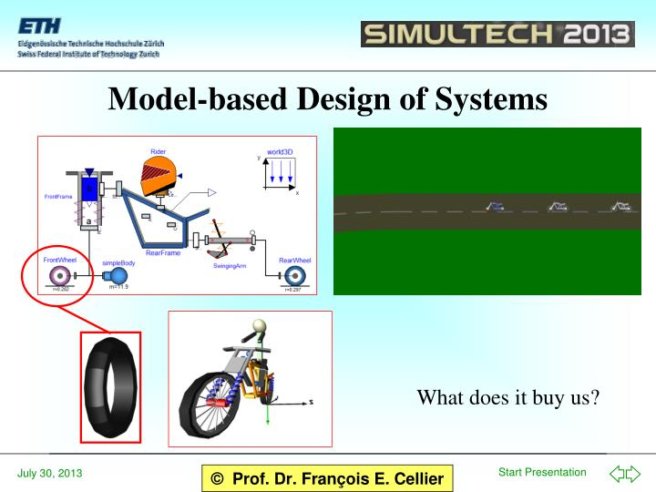 Model-based Design of Systems