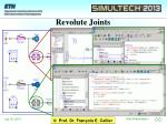 revolute joints