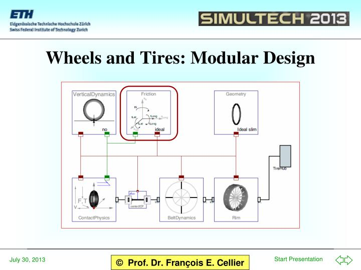 Wheels and Tires: Modular Design