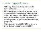 decision support systems6