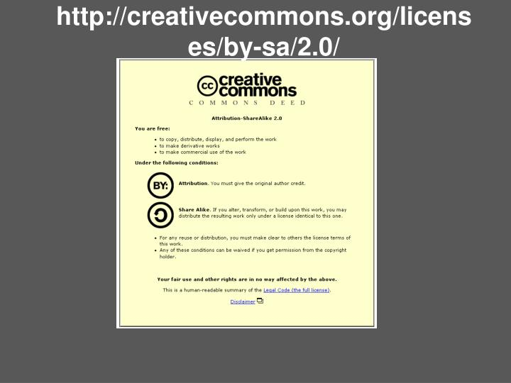 http://creativecommons.org/licenses/by-sa/2.0/