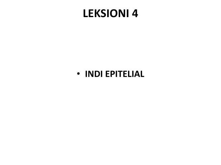 LEKSIONI 4