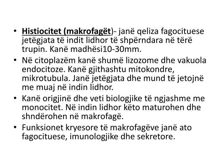 Histiocitet