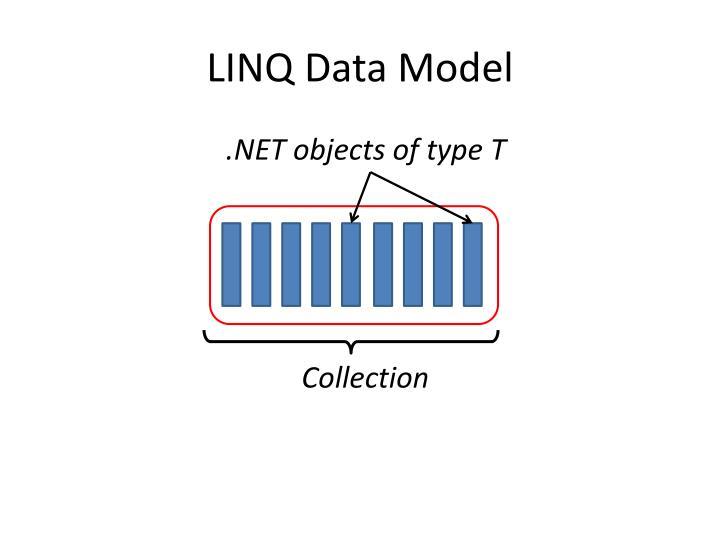 LINQ Data Model