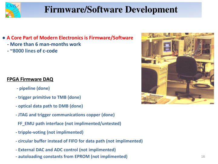 Firmware/Software Development