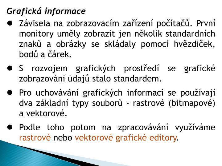 Grafická informace