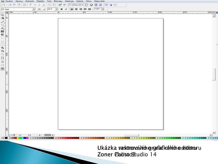 Ukázka rastrového grafického editoru
