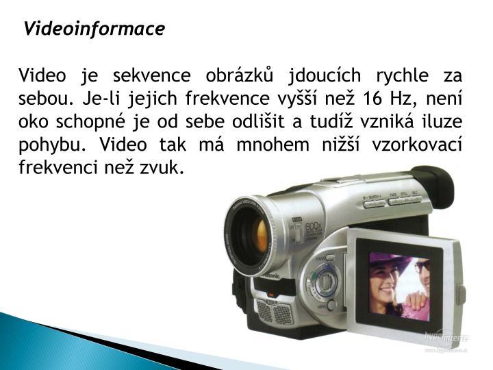 Videoinformace