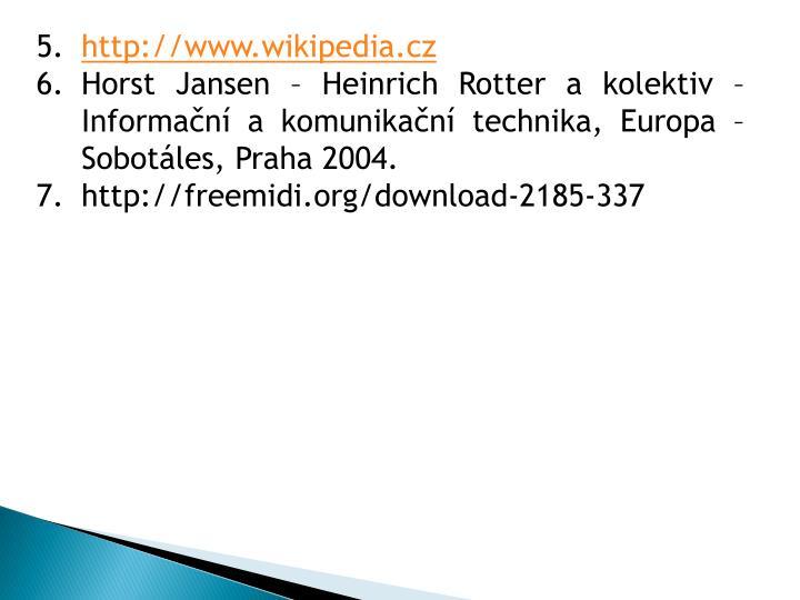 http://www.wikipedia.cz