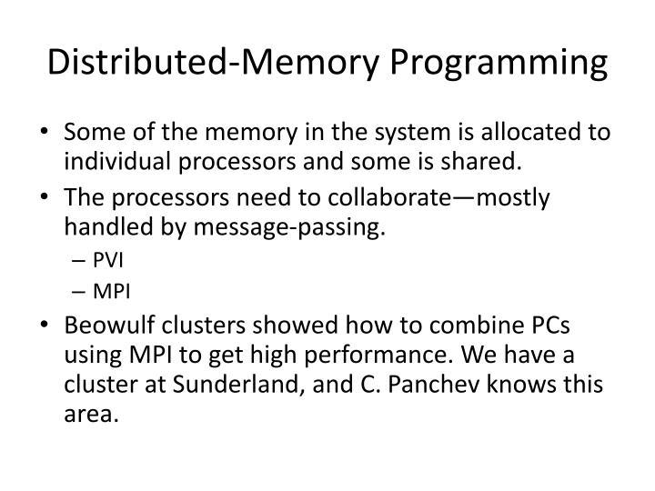 Distributed-Memory Programming
