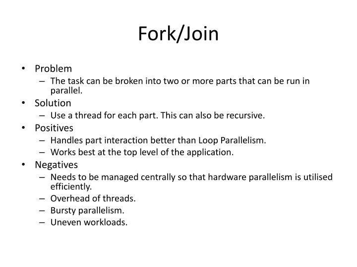 Fork/Join