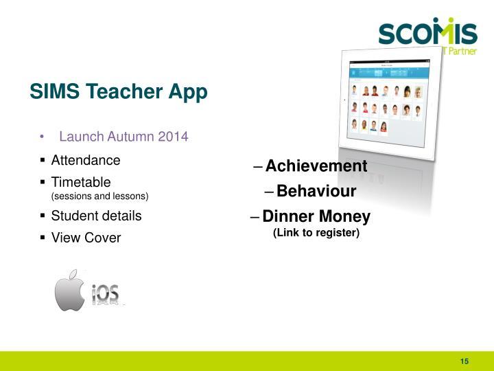 SIMS Teacher App
