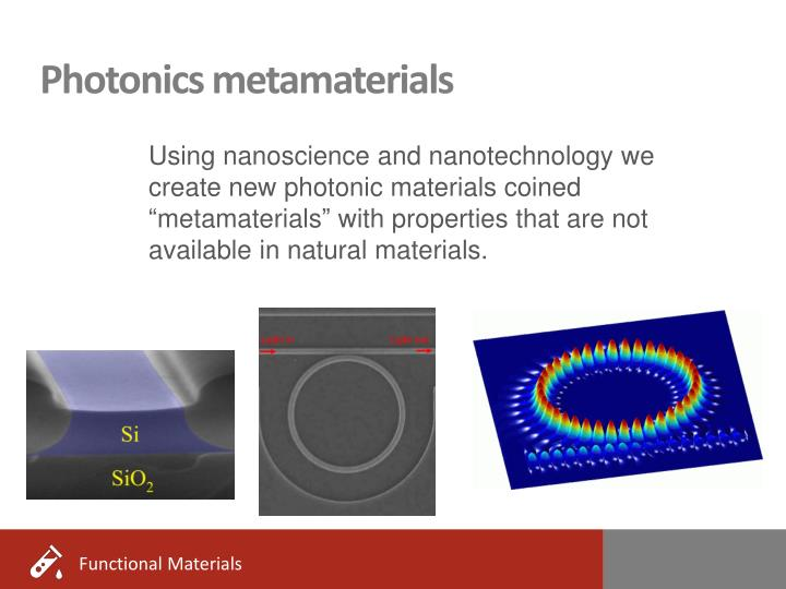 Photonics metamaterials