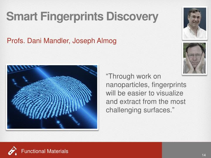 Smart Fingerprints Discovery