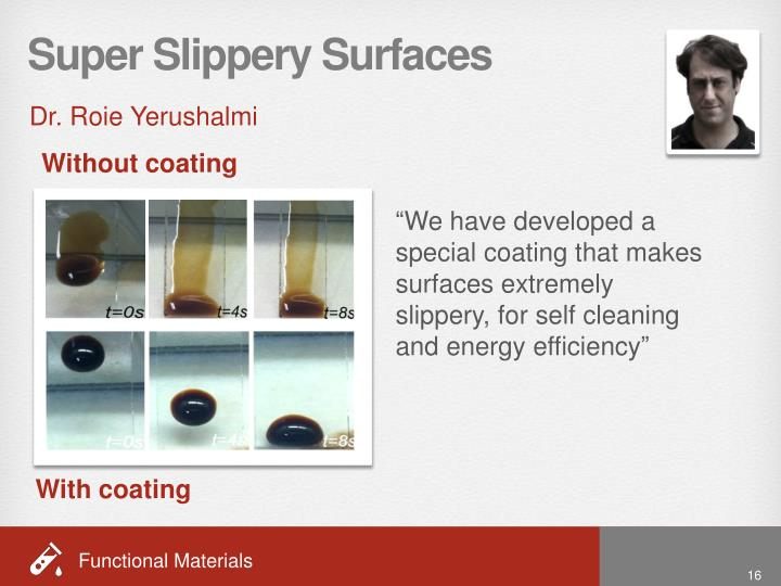 Super Slippery Surfaces