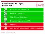 forward secure digital signatures