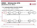 xmss winternitz ots buchmann et al 2011