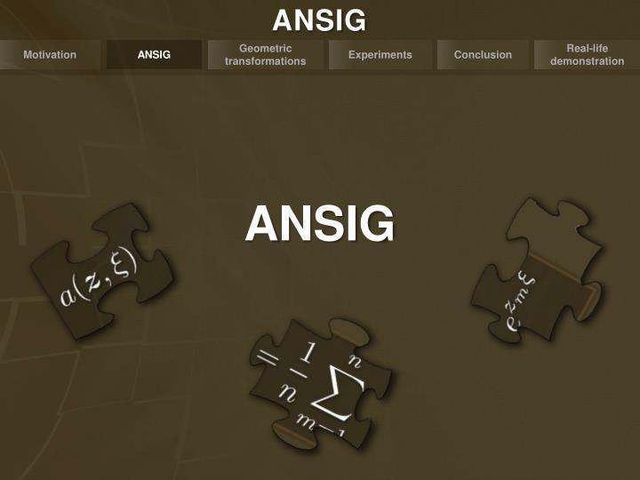 ANSIG