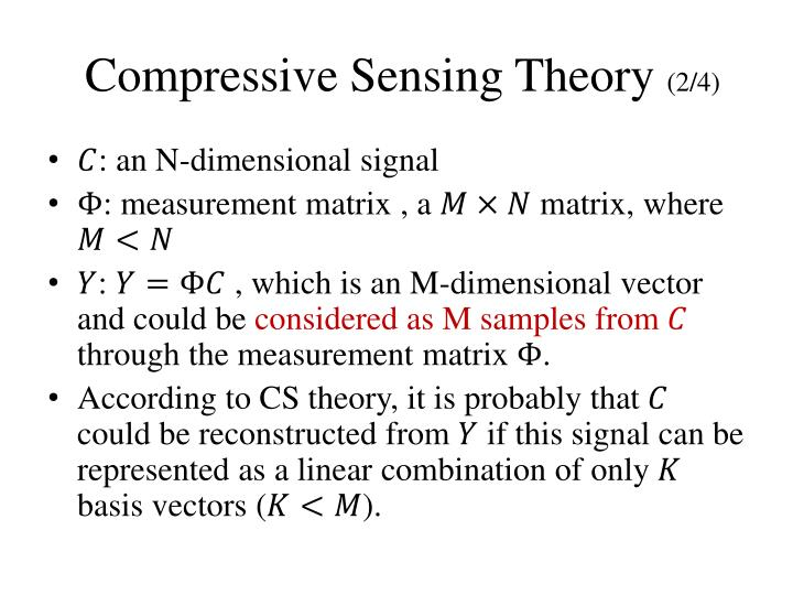 Compressive Sensing Theory