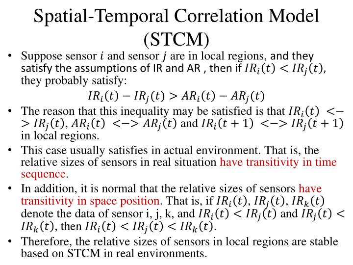Spatial-Temporal Correlation
