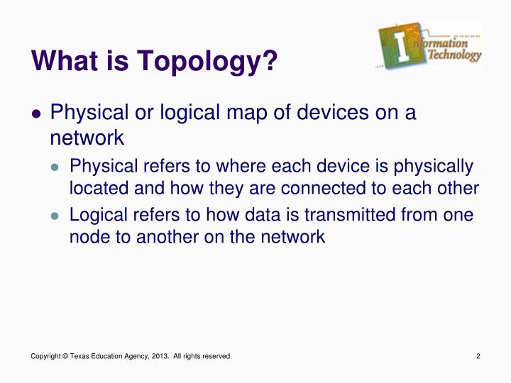What is topology