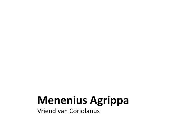 Menenius