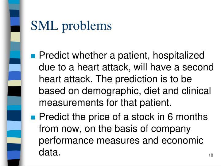 SML problems