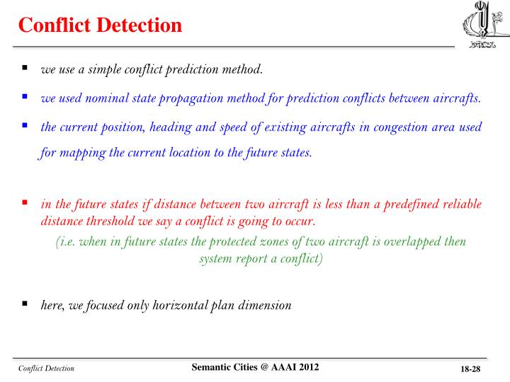 Conflict Detection