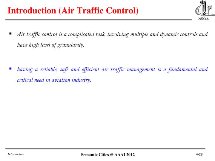 Introduction (Air Traffic Control)