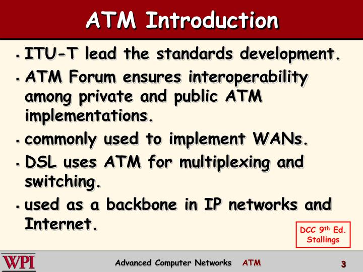 Atm introduction