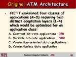 original atm architecture