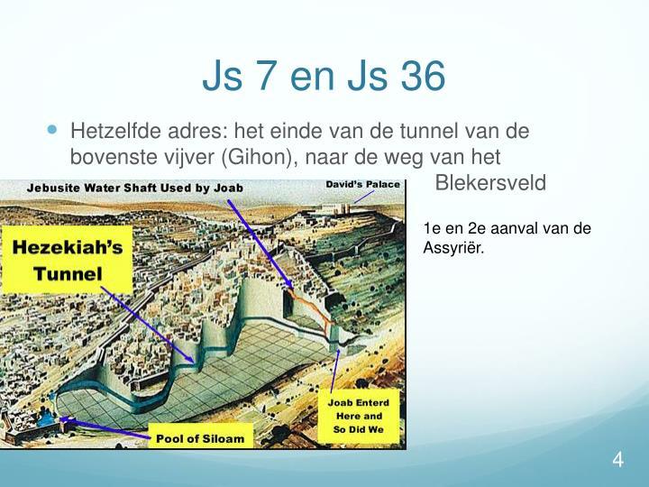 Js 7 en Js 36