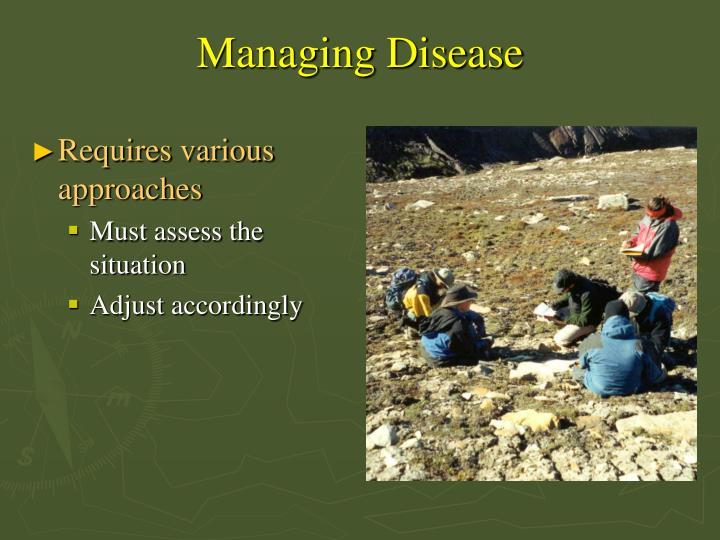 Managing Disease